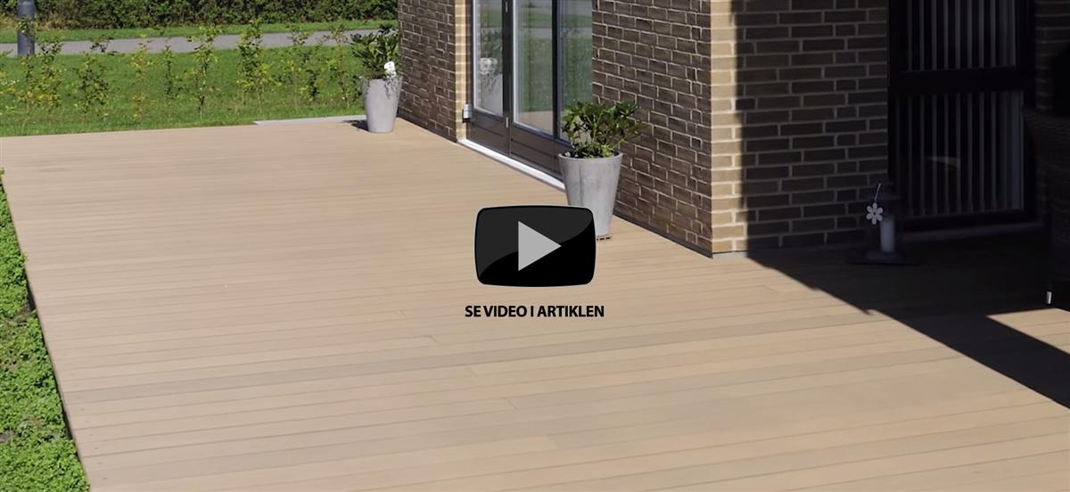 Sådan bygger du en komposit-terrasse på Lav-det-selv.dk