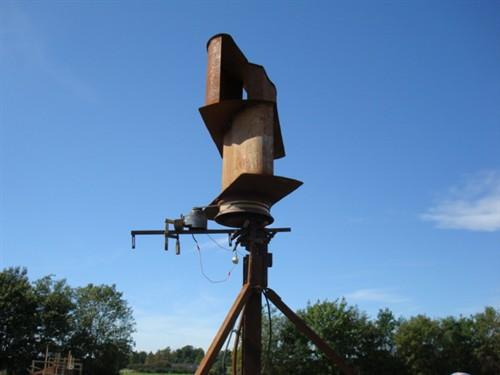 Hjemmelavet vindmølle generator