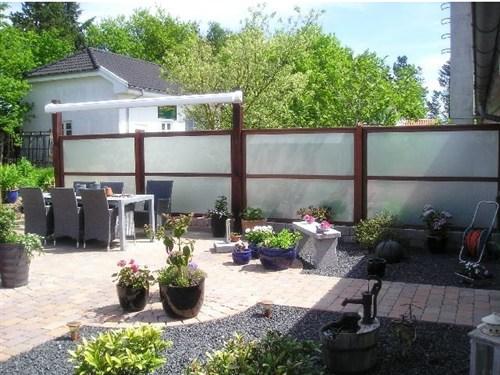 Materiale forslag til læhegn til terrasse   lav det selv.dk