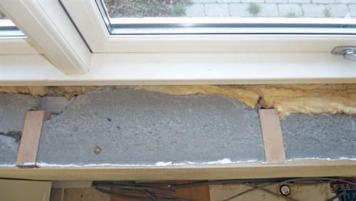 Nice Fastgøre træ-vinduesplade til murværk (billeder inkl.) - FW15