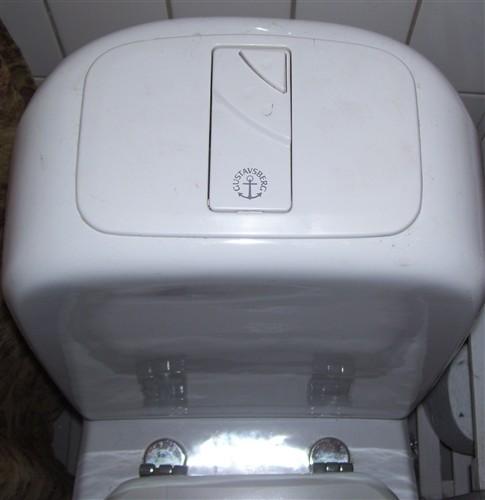 Løber gustavsberg toilet Toilet der