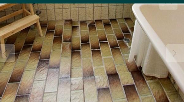 Maling af gamle gulv fliser i badeværelset - Lav-det-selv.dk
