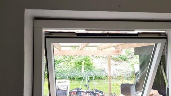 Lysning i vindue på badeværelse. - Lav-det-selv.dk