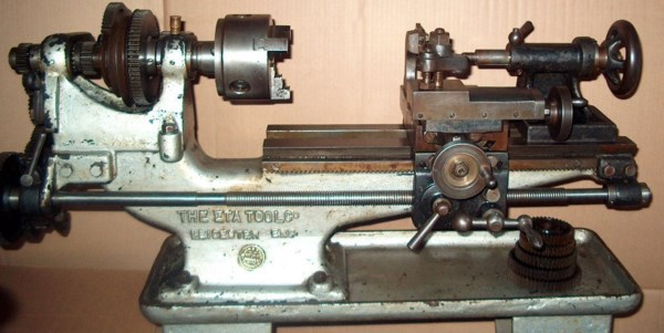Billedresultat for old very short metal lathe