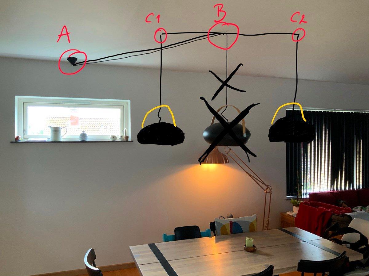Picture of: Montering Af To Loftslamper Lav Det Selv Dk