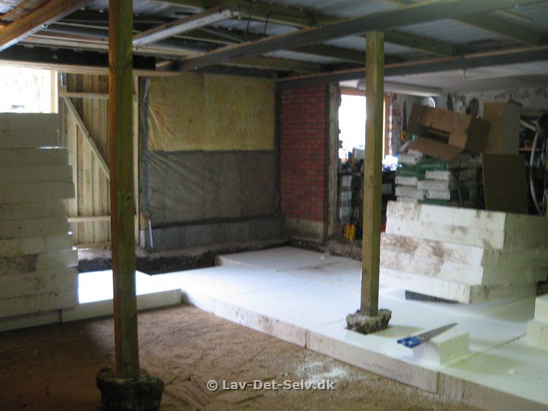 skur bliver til garage projekt p lav det. Black Bedroom Furniture Sets. Home Design Ideas