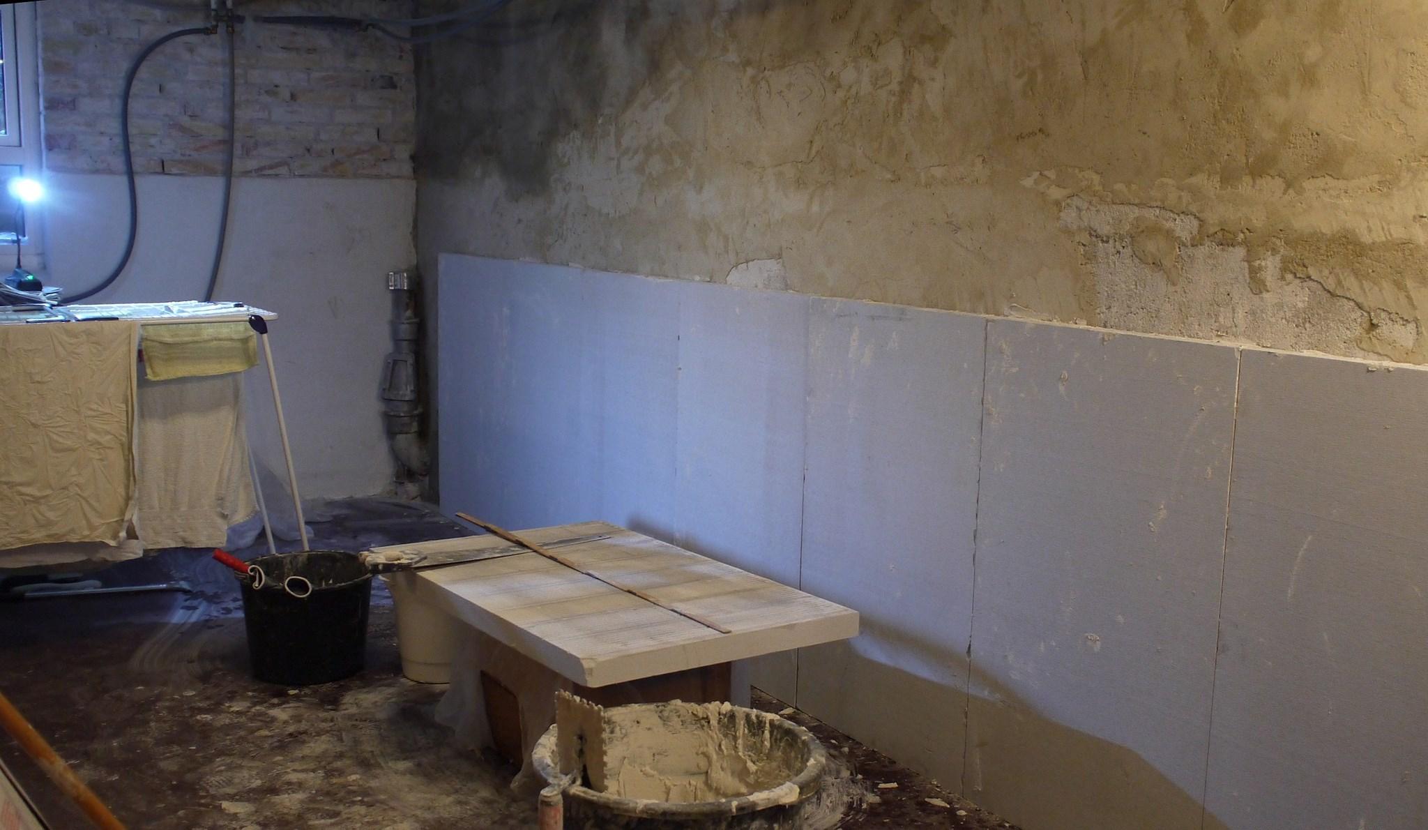 Fantastisk Isolering af kældervæg - projekt på Lav-det-selv.dk FM62
