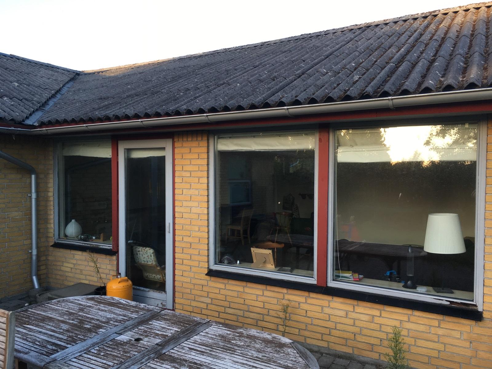 Moderigtigt Udskiftning af vinduer med jernstolpe imellem - Lav-det-selv.dk AK04