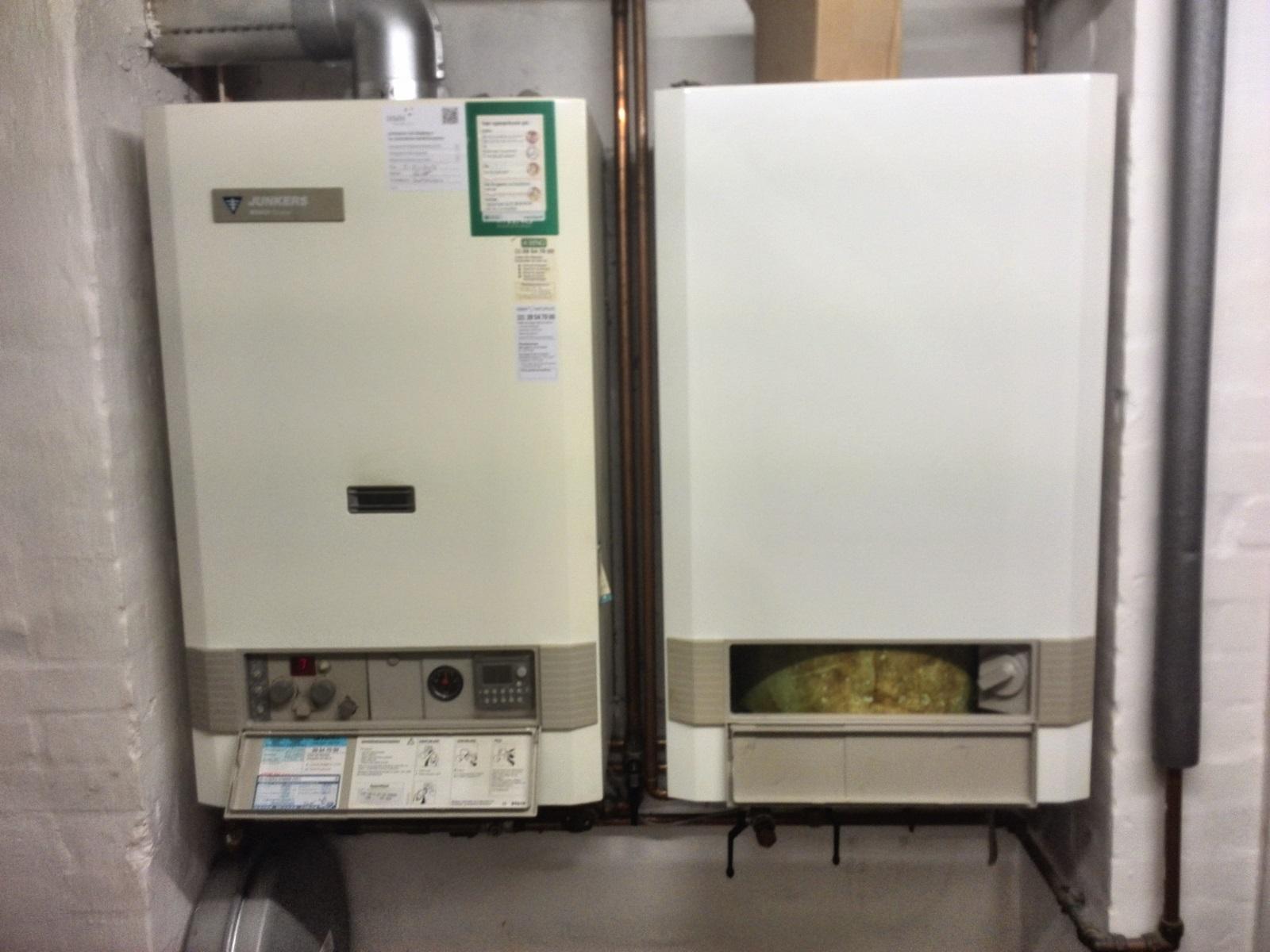 Mit gasfyr drypper (vandbeholderens sikkerhedsventil?)