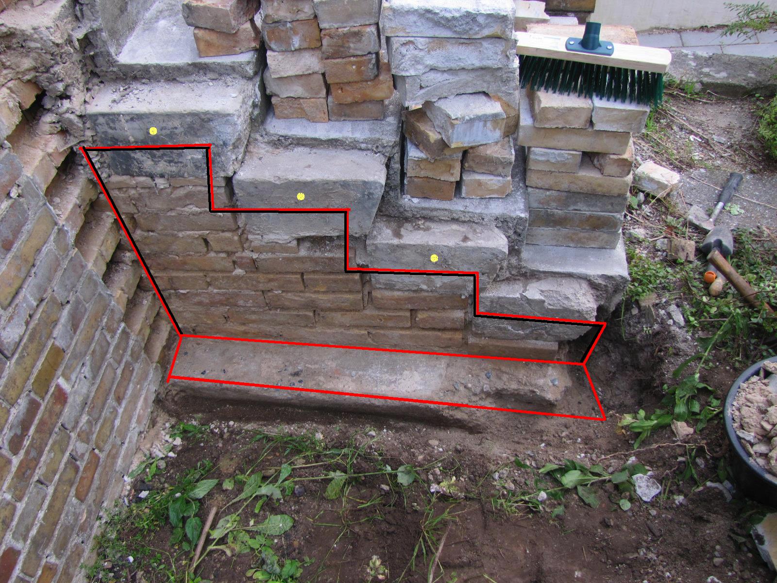 #B21919 Dette års Renovering Af Mur Langs Trappe Lav Det Selv.dk Forum Gør Det Selv Tæppe På Trappe 6141 160012006141